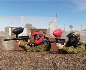 Katherine Paintball